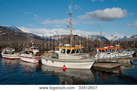 Icelandic Fishing Boats