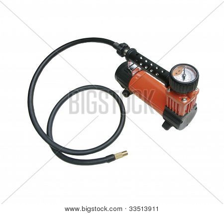 Car Air Compressor With Manometer