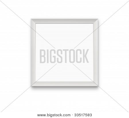 Blank Photo Frame With Path