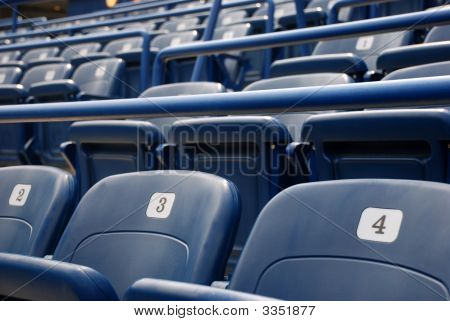 Stadium Or Cinema Seats