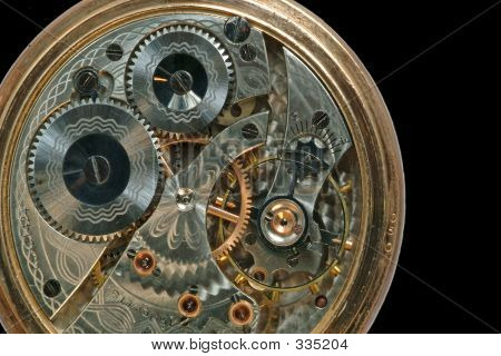 Beautiful Old Clock Machine