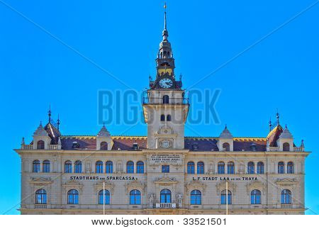 City Hall Of Laa An Der Thaya, Lower Austria, Austria