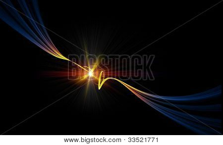 Electrical Stream, Electric Current, Spark