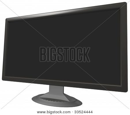 computer screen .psd