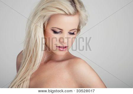 Over a shoulder