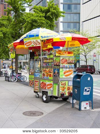 NYC Hotdog stand