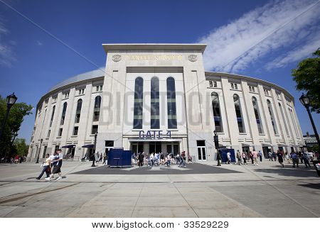 Outdoor View Of Yankee Stadium