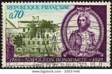 Stamp Napoleon Bonaparte