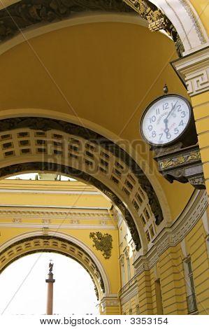 Velho relógios de estilo públicos