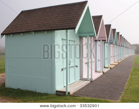 English Beach Huts