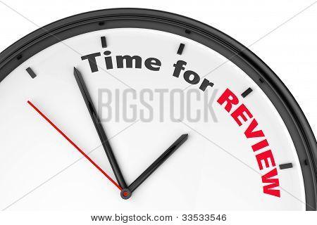 Tiempo por concepto de revisión