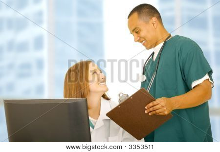 Medical Staff Interaction