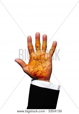 Nigeria Hand