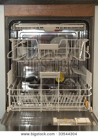 Almost Empty Dishwasher