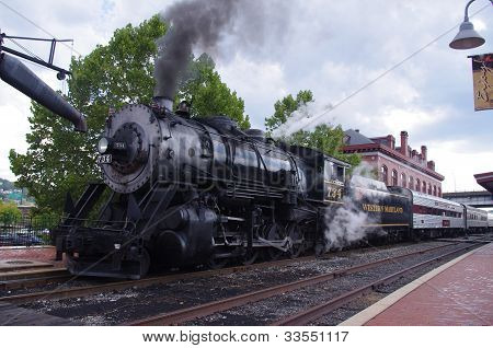 Mountain Thunder Steam Engine