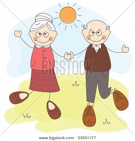 Avós felizes