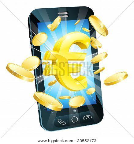 Euro Money Phone Concept