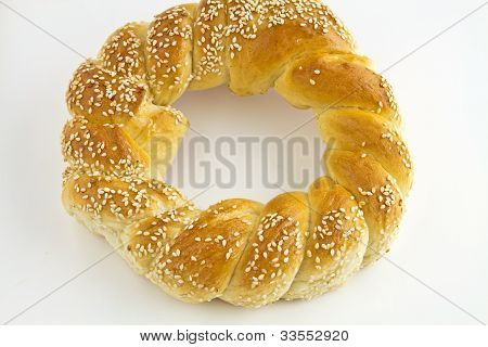 Pretzel With Sesame