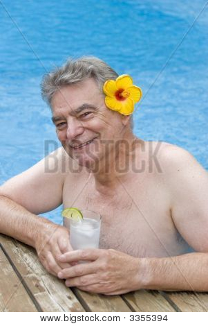 Man With A Gin And Tonic