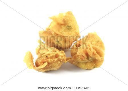 Fried Wanton Chinese Dumplings