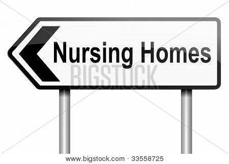 Nursing Home Concept.