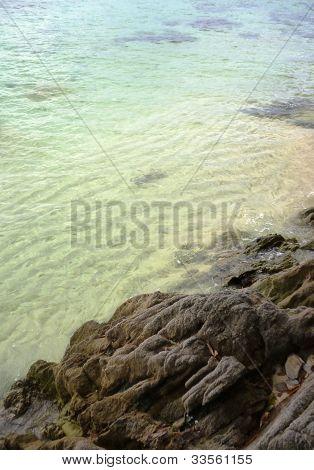 Gelam headland beach