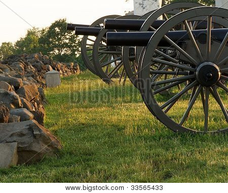 A Battery of Cannons