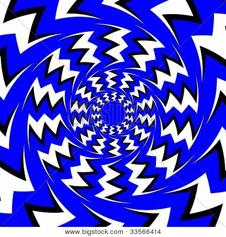 Zigzag Illusion