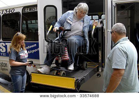Estado de Idaho/usa _disable Senior
