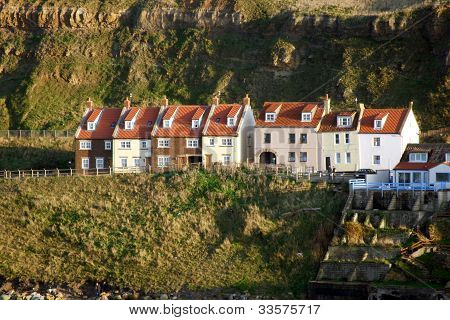 Cottages in Whitby.
