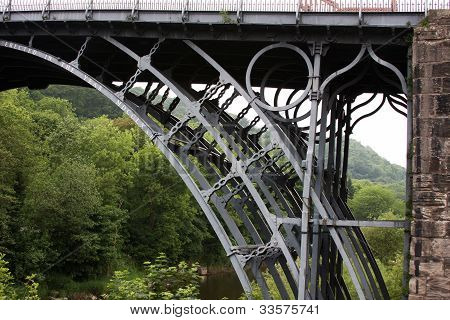 Detail of Ironbridge.