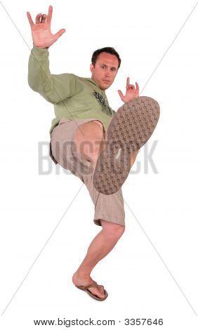 Man Makes Kick
