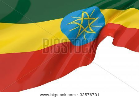Flags Of Ethiopia