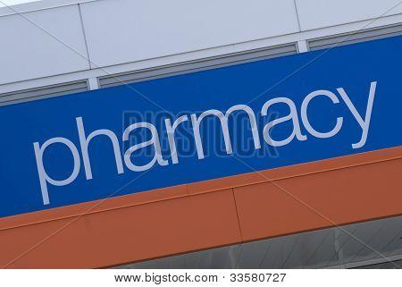 Pharmacy Signage