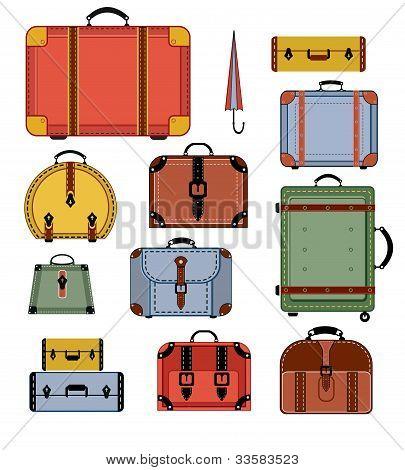 Retro Travel Bags