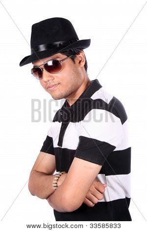 Stylish Young Indian Guy