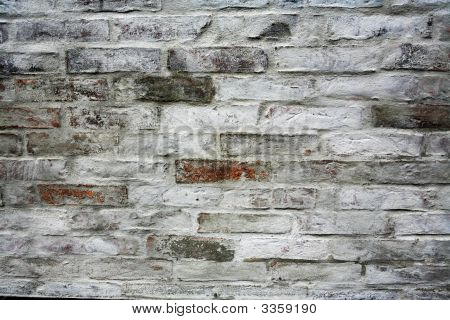 Brick Wall, Painted