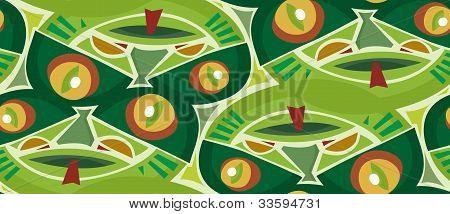 Reptilian Seamless Pattern