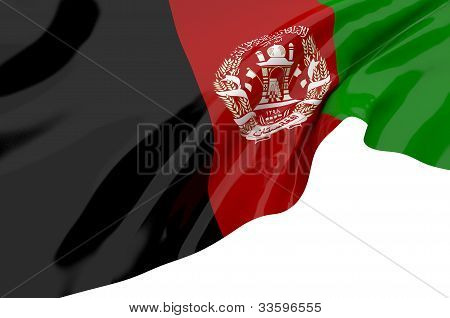 Illustration Flags Of Afghanistan
