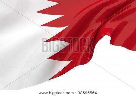 Illustration Flags Of Bahrain