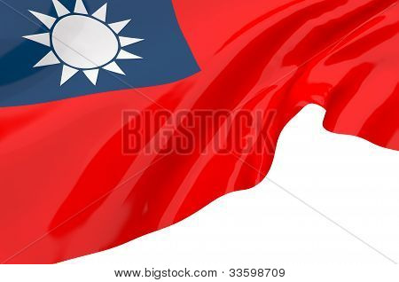 Illustration Flags Of Taiwan