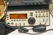 Old Amateur Radio Transmitter Transceiver. Ham Radio poster
