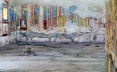 Pompeii, Archeological Site Near Naples, Palestra Dei Luvenes, Luvenes Gymnasium, Italy poster