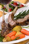 picture of lamb chops  - Lamb chops  - JPG