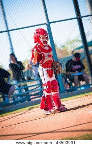 Little League Baseball Catcher