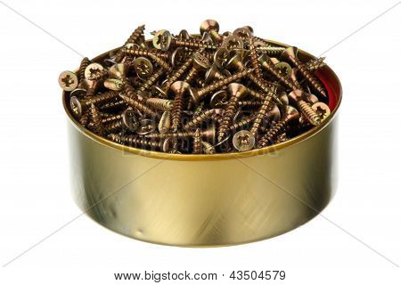 Screws In A Can