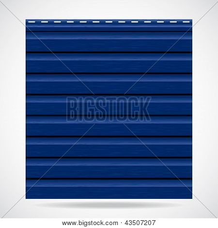 Siding Texture Panel Blue Color