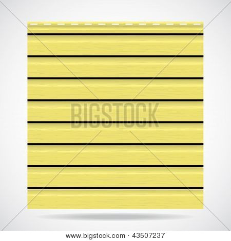 Siding Texture Panel Lemon Color