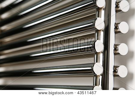 A Different Angle Of A Radiator