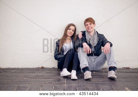 Cool Teenage Couple